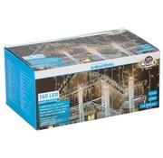 Grundig Grundig LED Kerstverlichting ijspegels 160 stuks Warm wit 810 cm voor Binnen/Buiten