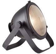 Brilliant Tafellamp Bo floodlight industrieel mat zwart metaal glas 40W E27