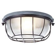 Brilliant Plafondlamp Lauren industrieel zwart 40W Ø 25 cm