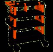 Generic Gereedschapswagen Servicetrolley EasyWork 68 x 35 x 87,5 cm