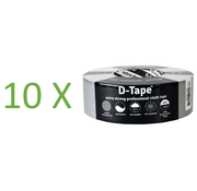 D-Tape D-Tape Extra sterk Professional Cloth tape 50m x 50mm set van 10 rollen
