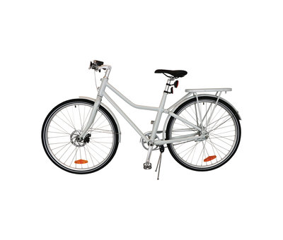 "Tom TOM City Bike Deluxe ""Unisex"" 28 inch - Wit - 49cm Excl. Accessoires"