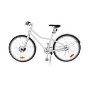 "Tom TOM City Bike Deluxe ""Unisex"" 26 inch - Wit - 45cm Excl. Accessoires"