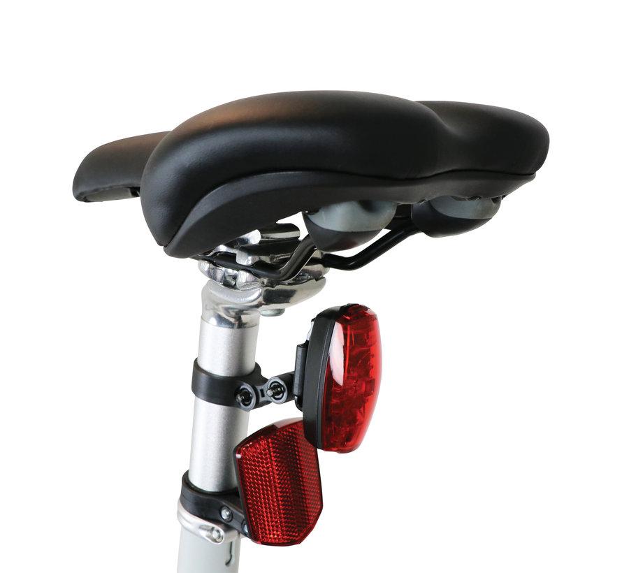"TOM City Bike Deluxe ""Unisex"" 28 inch - Wit - 49cm Excl. Accessoires"