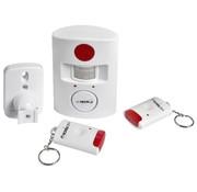 Heitech Heitech Draadloos infrarood alarmsysteem met 2 afstandsbedieningen