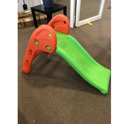 HOMCOM HOMCOM Kinderglijbaan voor in de tuin oranje-groen