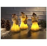Generic LED-engelen wax kaarsen set, 3 stuks