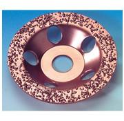 Westfalia Carbide hardmetalen komschijven 115 mm, medium, schuin