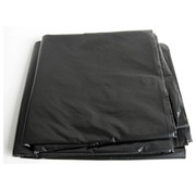 Generic Bouwfolie extra zwaar, zwart, gevouwen, 4m x 5m, 20m²