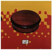 Deltafix Deltafix deurstopper houtkleur donker 4 cm x 10 cm 1150 gram