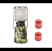 Kemper Kemper RVS draagbare gasverlichting met piëzo ontsteking + 2 gasbussen