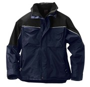 Snickers Workwear Snickers all-weather jack - 1328-9504 - blauw/zwart - maat M