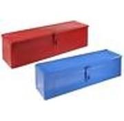 Generic Gereedschapskist gemaakt van metaal, afsluitbaar, kleur blauw