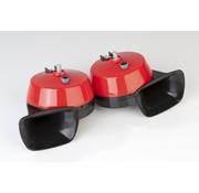 Generic 2x elektrische toeter claxon 12V