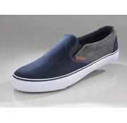 Generic Canvas bootschoenen jeansblauw maat 40