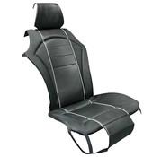 Generic Premium stoelbekleding, lederlook, zwart