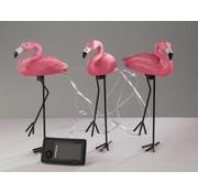 Generic Flamingo zonneverlichting - set van 3 stuks