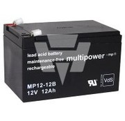 Generic Multipower accu MP12-12B - 12V - 12Ah