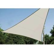 Perel Schaduwdoek - Zonnezeil - Driehoek 3.6 x 3.6 x 3.6m, kleur: crème