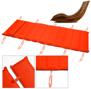 Deuba Deuba Flexibele steun voor saunabank, oranje
