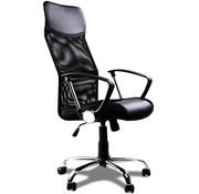 Casaria Comfortabele Bureaustoel Met  Gasdrukveer-  mesh zwart