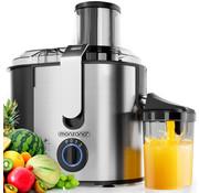 Deuba Deuba Juicer voor groenten & fruit 1100W - roestvrij staal - grote vulopening