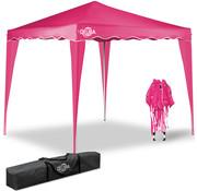 Deuba Deuba Vouwpaviljoen. party tent  Capri - Popup roze 3x3m