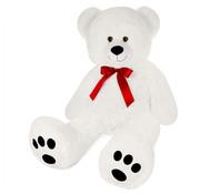 Deuba Teddybeer XXL - Knuffelbeer - Wit
