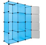 Deuba Deuba Opbergkast Medium blauw - flexibel op te stellen