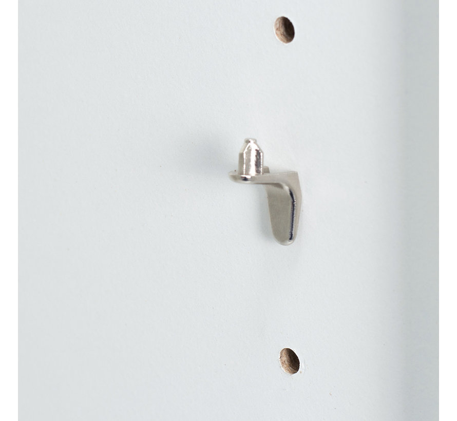 Boekenkast Vela met 5 vakken wit | 190 x 60 x 31 cm | Basic Scandinavische look