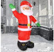 Deuba Deuba Kerstman opblaasbaar XXL met verlichting 250 x 180 x 115cm