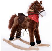 Deuba Deuba Schommelstoel kinderen paard met stojgbeugels