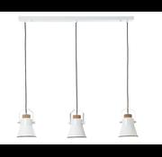 Brilliant Brilliant industriële hanglamp Harrow ll - Wit