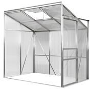 Deuba Deuba Aluminium zij serre 192x127x202cm met venster