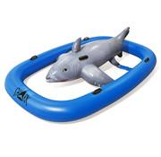 Bestway Bestway Zwemband haai grijsblauw 297x188x71cm