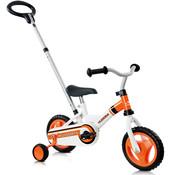 """Hudora Hudora Kinderfiets RS-1 3.0, 10"""", wit/oranje"""