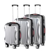 Monzana Monzana Hardcase koffer set Ikarus zilver M/L/XL