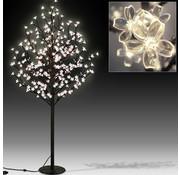 Monzana Monzana Kersenbloesemboom met 220LED's, 220cm lengte voor binnen/buitengebruik