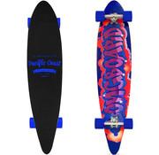 Generic Longboard 112x26cm - 44Inch - ABEC 7 - blauwe wielen
