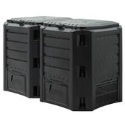 Prosperplast Prosperplast Snelle compostbak 2 stuks - 800L -Compostvat - Composter - kunststof - 135 x 72 x 83cm