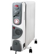 Generic Olie radiator met 11 ribben en ventilator 2500W
