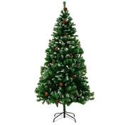 Casaria Casaria Kunstkerstboom 180cm INCSLUIEF sneeuw en standaard