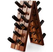 Deuba Deuba Wijnrek opvouwbaar voor 36 flessen