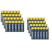 Varta Alkaline batterijen Mignon (AA), 24 stuks