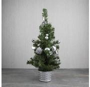 STAR TRADING LED mini kerstboom met 10 warmwitte LEDs