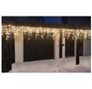 Generic IJspegel verlichting 360 LED's warm wit binnen/buiten 12 meter IP44