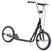 HOMdotCOM HOMdotCOM Kinder City scooter Stuntstep 16 inch zwart