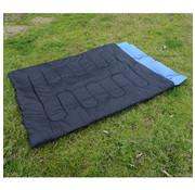 Outsunny Outsunny Dubbele slaapzak met kussens voor het kamperen 190 cm