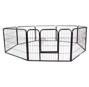 PawHut PawHut Metalen hok/ ren voor puppy's, konijnen, kippen - 80 x 60 cm