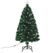 HOMCOM HOMCOM Kerstboom dennenboom met 140 LED#s Groen 60 x 120 cm